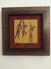 Les danseuses de jabbaren. Sarahmosaique