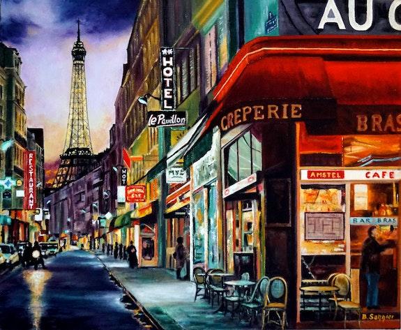 Rue St Dominique - Paris 7é. B. Sannier Bernard Sannier