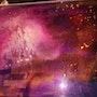 Tableau sur ver en resine epoxy. Dydy