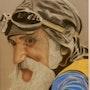 Papy motard. Philippe Guigon