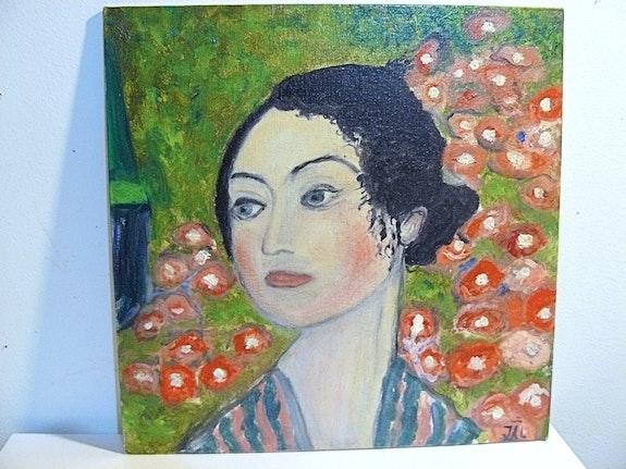 Danseuse d'aprés Gustave Klimt. Jean-Yves Lippens Jyl