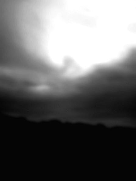 Lumière floue.  Rudi Julet