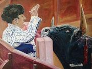 Fijando al toro. Claudio Benavente