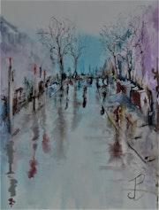 Aprés la pluie. Jean-Pierre Lemoine