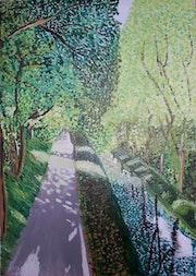 Le Canal de Couze au printemps. Yann Lefebvre