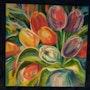 Bouquet multicolor. Pierre-Yves Quéméner