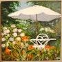 Jardin d'été. Althéia - Martine Vinsot