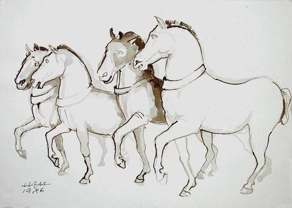 Die Pferde von San Marco 1 (1986). Hajo Horstmann Hajo Horstmann