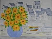 Soirée d'été en Bretagne. Gerard Flohic