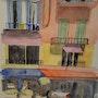 Une rue aux façades colorées de Burano. Dominique Frere