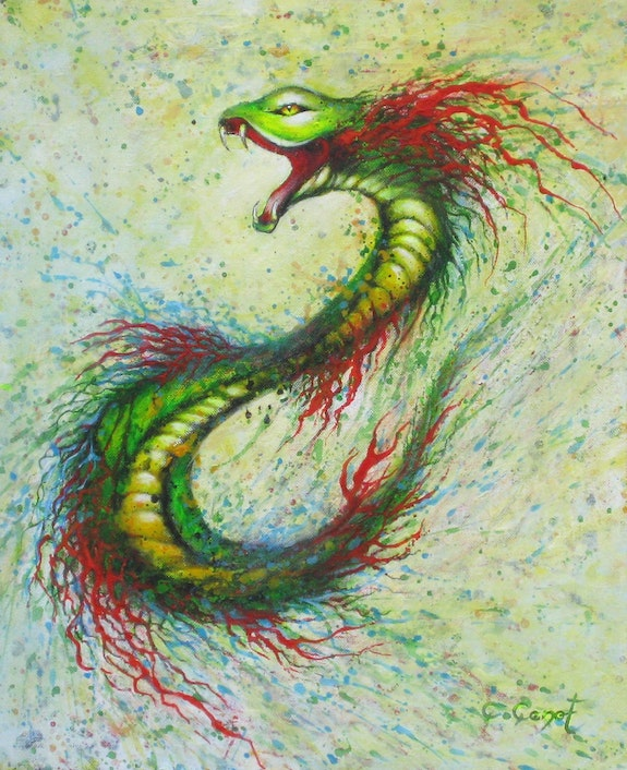 The snake. Christian Poincenot C. Poincenot