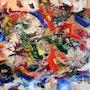 Composition abstraite. Daniel Saint Aignan