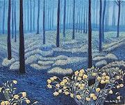 El bosque azul.