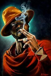 L'homme à la cigarette..