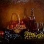 Still life with wine. Marta Valášková