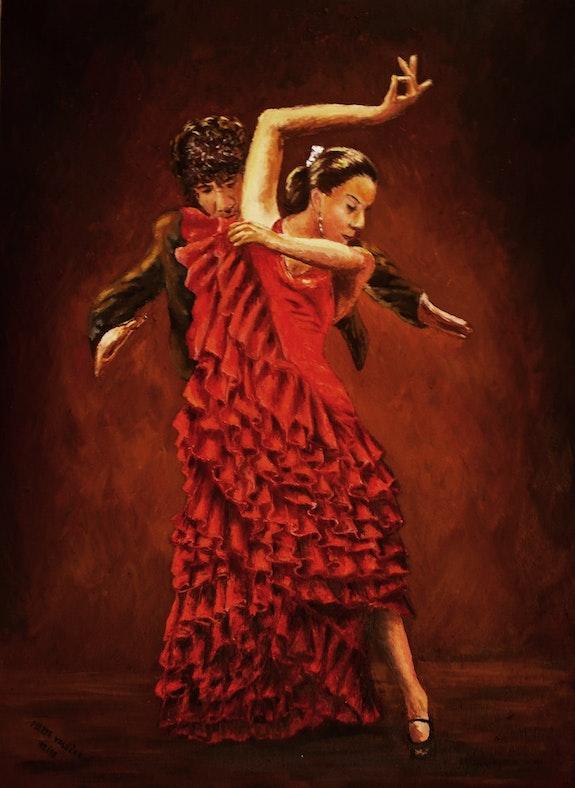 Captive flamenco III.. Marta Valášková Marta Valášková