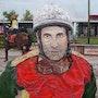 Portrait of a jockey. Graham Coulthard
