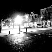 Ville, nuit, lumière.