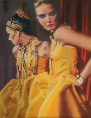 Miroir. Catherine Lccat