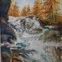 La cascade de Fontcouverte. Patricia Palenzuela Kroockmann