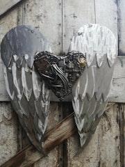 Coeur avec ou sans ailes.. Michel Flock