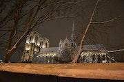Paris sous la neige….