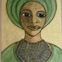 Une femme. Evelyne Patricia Lokrou