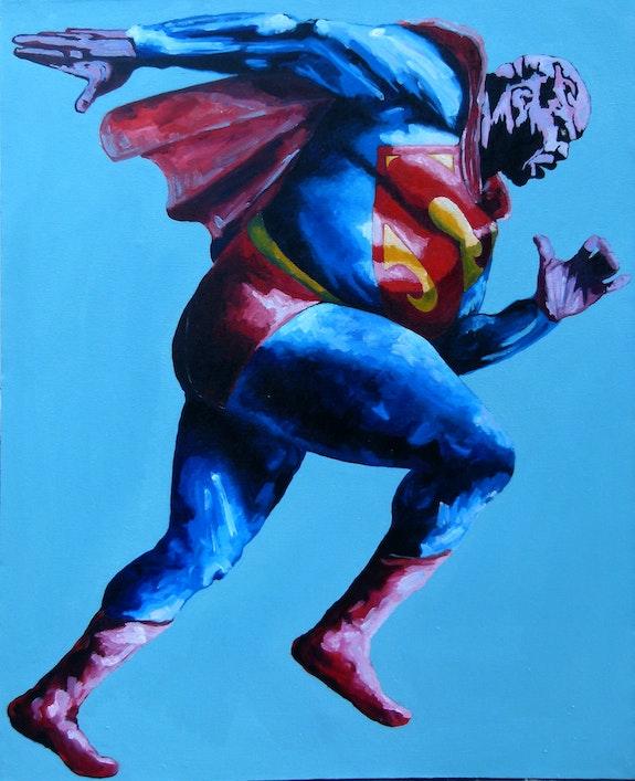 SuperMan --- Vince Wilfork--- <3 <3 <3. Inga Batatunashvili Inga