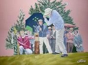 Parcours Golf Vintage.