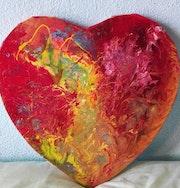 Une autre version de coeur en emoi.