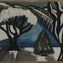 Un paysage d'hiver. Evelyne Patricia Lokrou