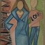 Bonne Saint Valentin. Evelyne Patricia Lokrou