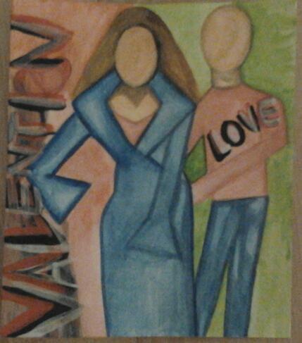 Bonne Saint Valentin. Evelyne Patricia Lokrou (Evepath); Evelyne Patricia Lokrou