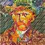Vincent Van Gogh in Obst. Replica. Blende18