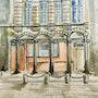 Place arras vintage. Galanthis
