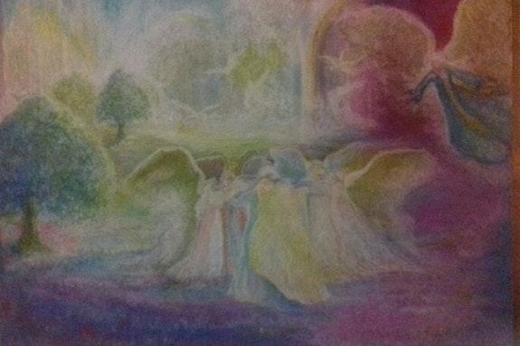 Au royaume des Anges, un Ange blessé.. Véronique Soriano Mallorquin Véronique Soriano Mallorquin