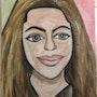 Portrait tentative. Evelyne Patricia Lokrou