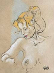 Portrait de jeune fille 02. Etienne Bonnet