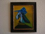 Portrait de femme de Pablo Picasso.