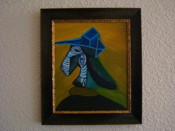 Portrait de femme de Pablo Picasso. Diana Diana