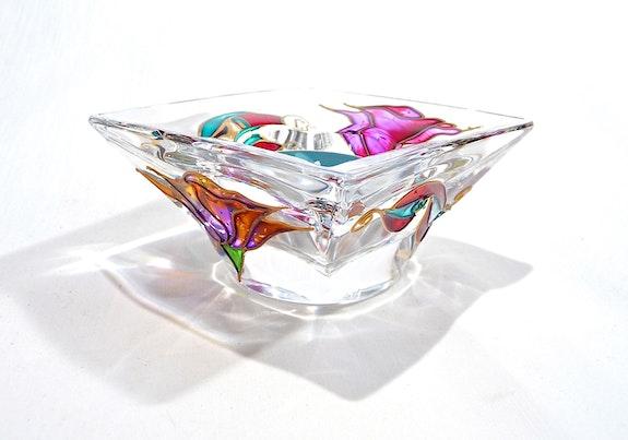 Bougeoir cristal «Italia» n°2. Fleur Tòth Fleur Toth