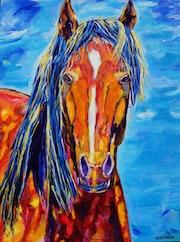 Chosen Horse Fine Art. Denise Messenger Art