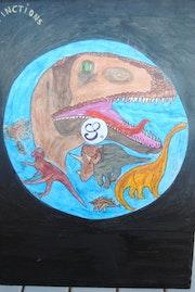 Les dinosaures création 1978.