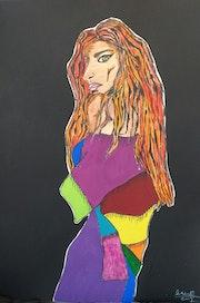 Mujer andaluza. Corina Rodriguez Anievas