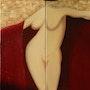 Le drap rouge. Jean-Marc Binet