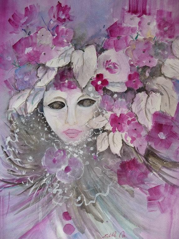 Le masque. Edith Driffort Edith Driffort