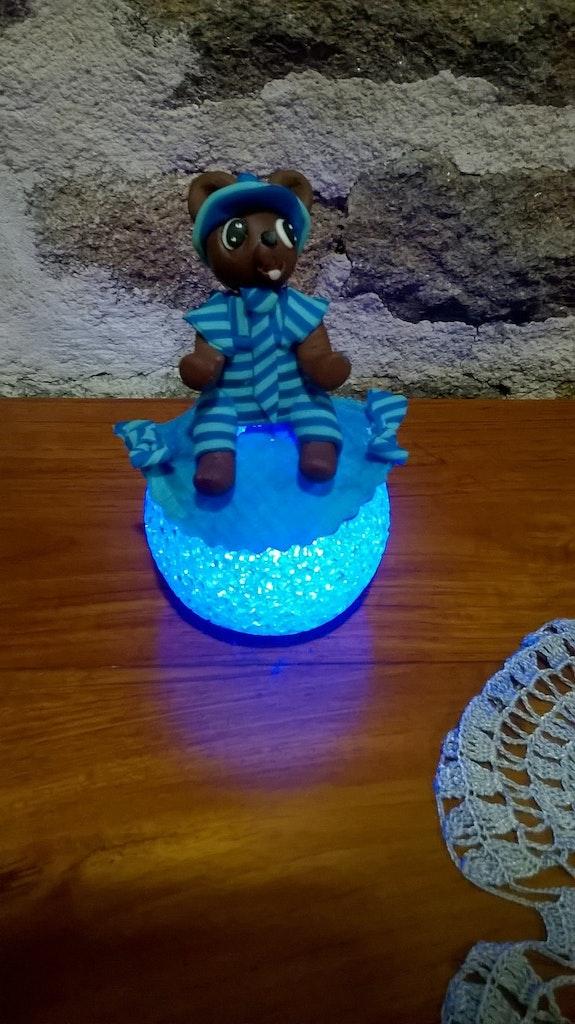 Petit ours bleu.  Lecornu Chantal
