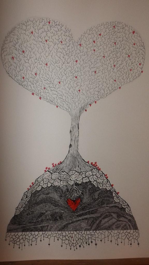 L'arbre à coeurs. Rachël Colinet-Pioche Rachël Colinet-Pioche