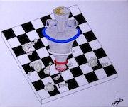 Le roi en marche… Le peuple échec et mat. Jean-François Albert
