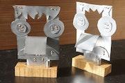 Petites statuettes métal.